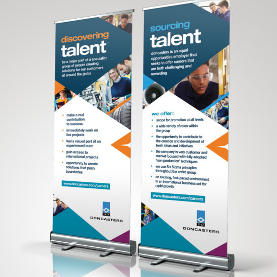 pull up banners roller banners