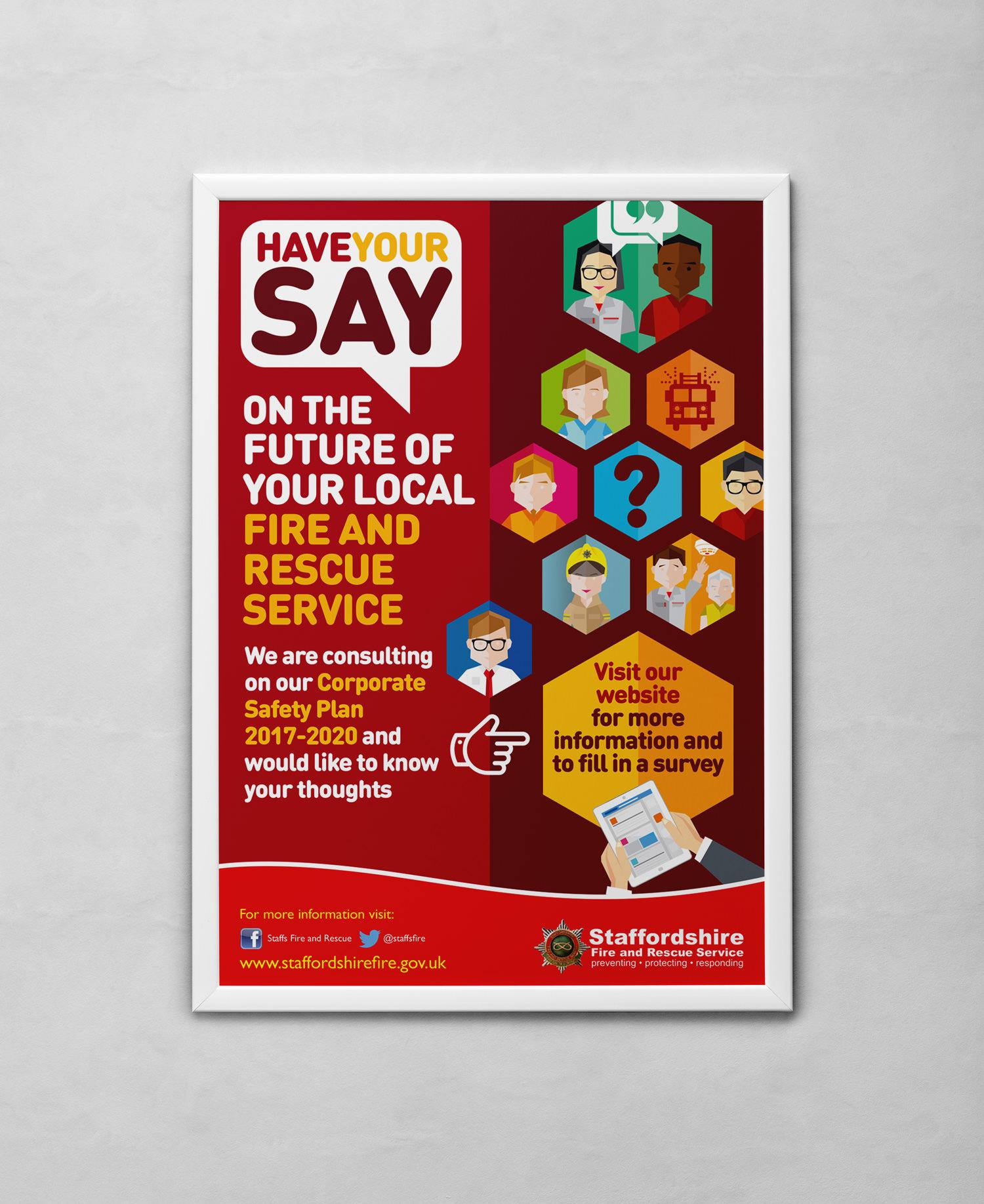 poster design in staffordshire