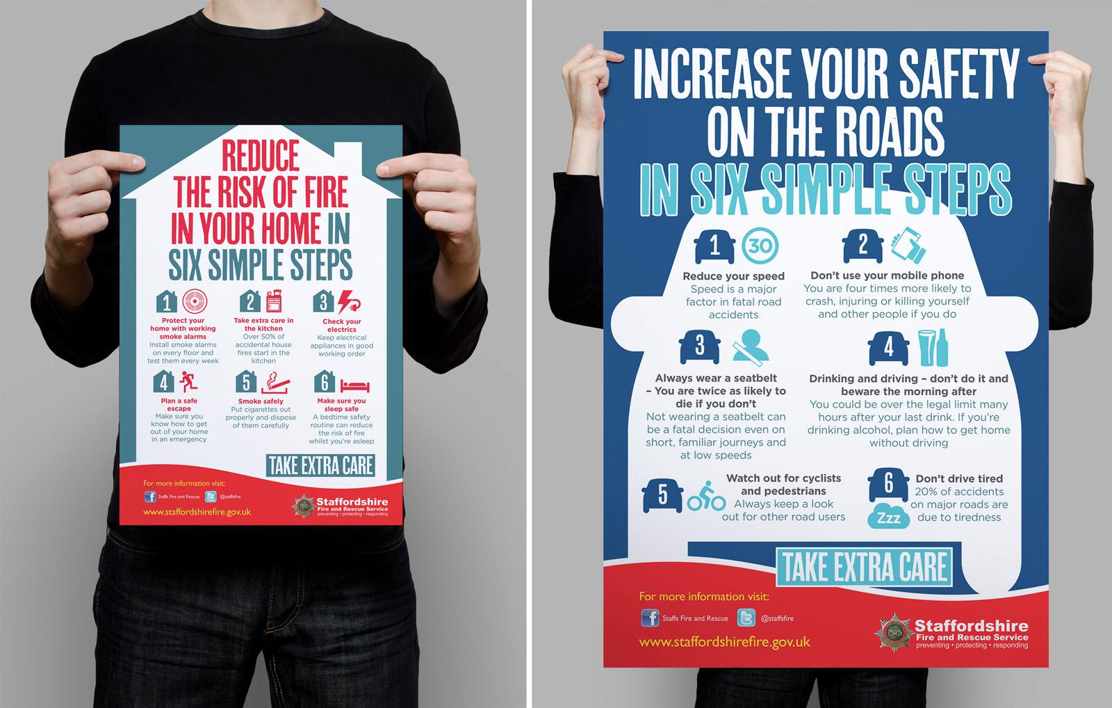 Staffordshire poster design