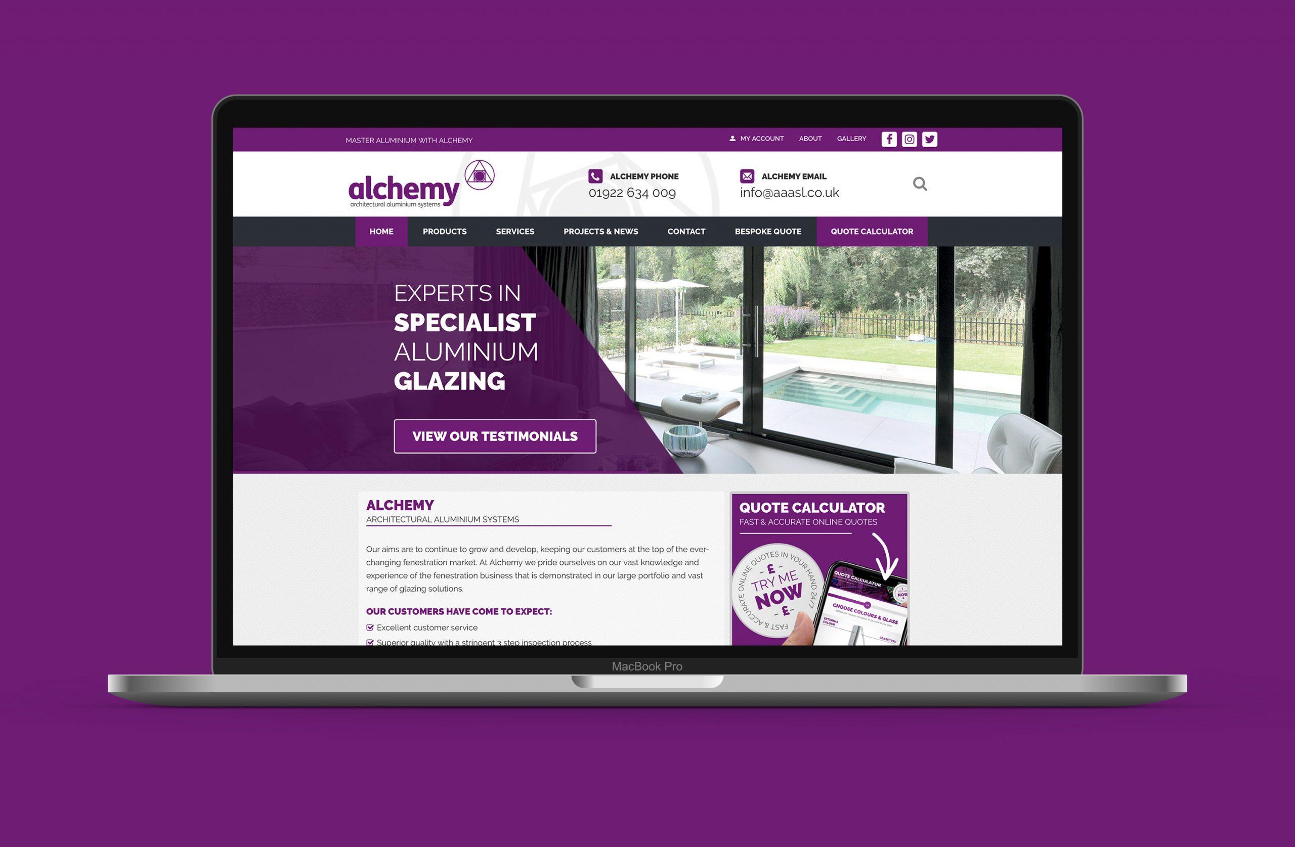 Alchemy home page